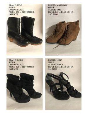 Designer Shoes (Michael Kors, Jennifer Lopez, Aldo & More) for Sale in S CHEEK, NY