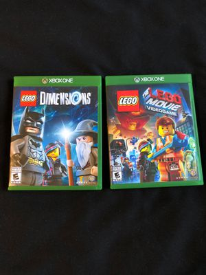 LEGO Xbox one games! for Sale in Santee, CA