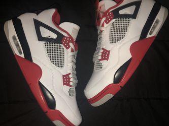 Jordan 4 fire red 📈 for Sale in Ontario,  CA