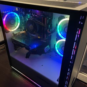 CyberPowerPC - Gaming Desktop - AMD Ryzen 7 3700X - 16GB Memory - AMD Radeon RX 580 - 2TB Hard Drive + 240GB SSD - White for Sale in Manalapan Township, NJ