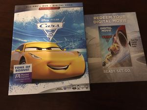 """Digital Copy of """"Cars 3"""" I can ONLY accept Zelle or cash... for Sale in Abilene, TX"""
