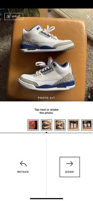"Jordan 3 OG ""True Blue"" for Sale in Dallas, TX"