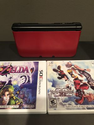 Nintendo 3ds XL WITH 2 games for Sale in Dyer, IN