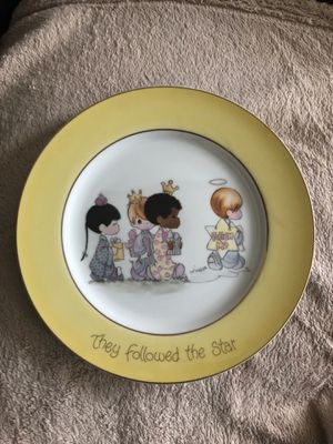 1980 Precious Moments (They Followed The Star) Plate for Sale in Groveport, OH