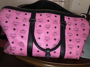 MCM PINK MEDIUM DUFFLE BAG for Sale in Orlando, FL