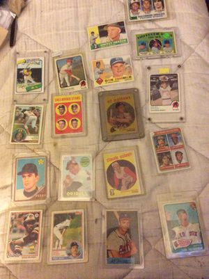 Pre war and vintage and a couple modern baseball cards f for Sale in San Francisco, CA