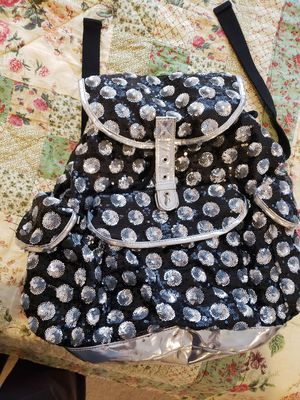 New Black silver Aeropostale bling backpack teen for Sale in Tampa, FL