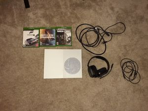 Xbox S 1 Trilibite +4 games and A10 headphones for Sale in Orlando, FL