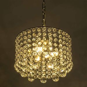 Modern Crystal Chandelier, 3-Light Flush Mount Ceiling Light Fixture 9.8Inches Diameter for Hallway, Dining Room, Bedroom, Living Room, Kitchen for Sale in Clovis, CA