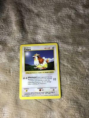 Shadowless, Pidgey(Pokemon) for Sale in San Marcos, CA