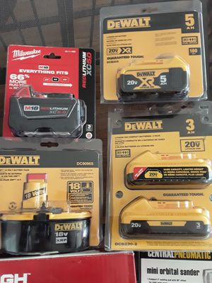 Brand new drill batteries for Sale in North Providence, RI