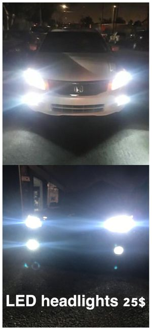 New technology Mi2 CSP led headlights top quality 30$ for Sale in Los Angeles, CA
