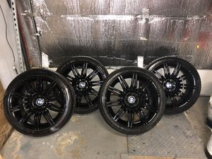 BMW 19inch rims , #172 style rims OEM e60 5 series 550i for Sale in Brooklyn, NY