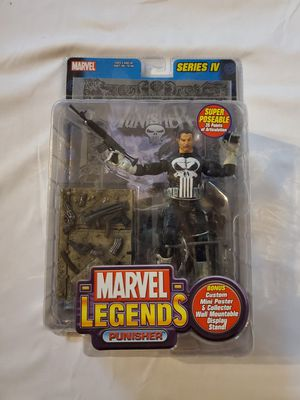 "2003 Marvel Legends ""Punisher"" Series IV Action Figure by Toy Biz for Sale in Gilbert, AZ"
