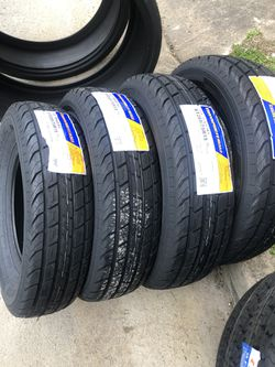 ST 205/75r15 8 ply trailer tires for Sale in San Antonio,  TX