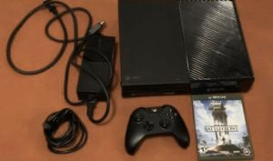 Black Xbox One 500GB with XBox One Game for Sale in Issaquah, WA