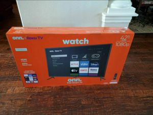 42 inch 4k uhd smart led hdtv .... new in box and sealed for Sale in Plano, TX