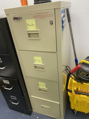 Fire Proof File Cabinet for Sale in Las Vegas, NV