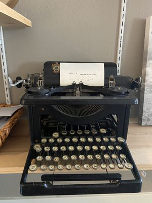 LC Smith Typewriter for Sale in Lakewood, CA