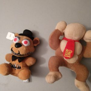 Two Video Game Plushies Price Is Per Plushie Very Nice Smoke-free Home for Sale in Puyallup, WA