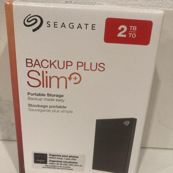 2TB Seagate Portable Storage