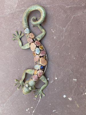 Metal Geckos (2) for Sale in Los Angeles, CA