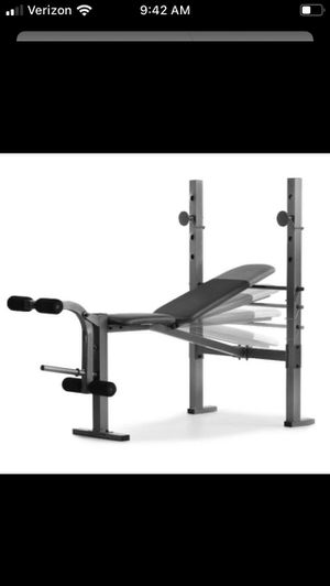 Work out Bench and rack for Sale in Miami, FL