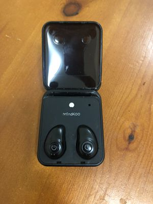 Mindkoo Bluetooth wireless earbuds for Sale in Brookline, MA