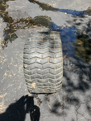 Turf saver lawn tractor tire for Sale in Fallbrook, CA