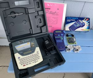 Complete label making kit brother P-touch 2200/2210 for Sale in Port Hueneme, CA