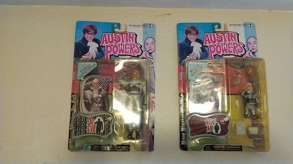 Vintage Austin powers action figures