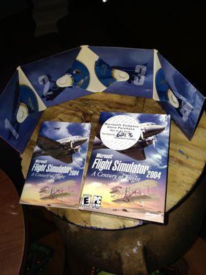 Microsoft Flight Simulator 2004 for Sale in Seattle, WA