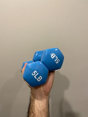 Dumbbells 5lb for Sale in Brooklyn, NY