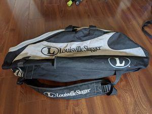 Louisville Slugger baseball bag, two bat pockets for Sale in Black Diamond, WA