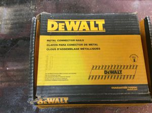 Dewalt 1.5 x .131 in Galvanized Metal Connector 2000 Pack Nails....... CHECK OUT MY PAGE FOR MORE ITEMS for Sale in Baltimore, MD