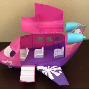 Shopkins Air Plane Toy Very Good Condition Nothing Break Sale As Is for Sale in Placentia, CA
