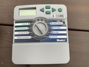HUNTER X-CORE INDOOR CONTROLLER TIMER CLOCK XC-400i - $60 (Camas, Wa) for Sale in Portland, OR