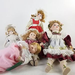 Lot of 5 Collectible Vintage Doll (1022506) for Sale in South San Francisco, CA
