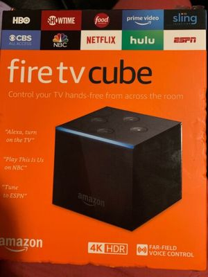 Amazon Fire TV Cube for Sale in Ferndale, MI