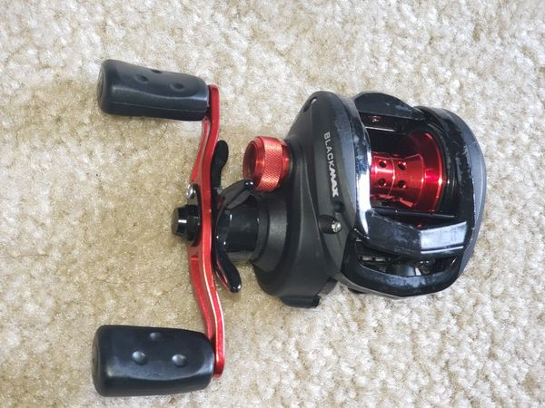 Abu Garcia Baitcasting Reel Fishing , 6.4:1 Gear Ratio Fast Reel best for Bass Fishing and Flipping.