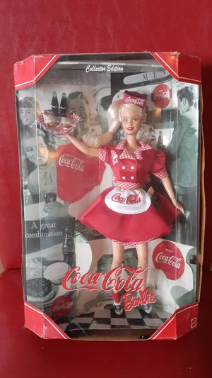 BARBIE COCA COLA 1998 MATTEL NEW IN BOX for Sale in Kissimmee, FL