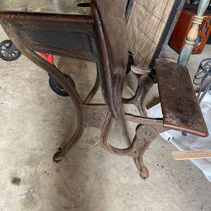 Antique school desk for Sale in Woodbridge, VA