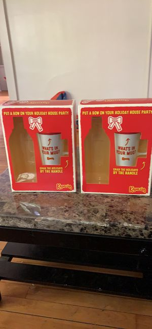 Set of two (2) Kahlua Christmas Themed Mugs for Sale in Syracuse, NY
