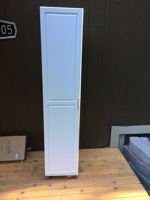 Slim cabinet with shelves for Sale in Woodinville, WA