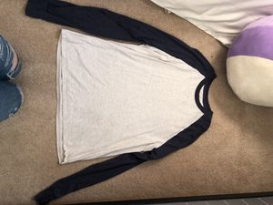 Hanes Blue & Grey Baseball Tee for Sale in Vancouver, WA