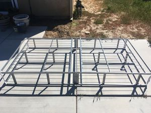 Metal, Twin Size Bed Frame for Sale in Victorville, CA