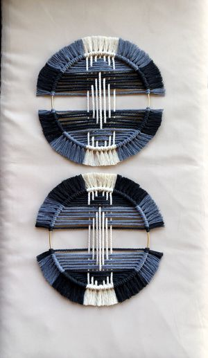 Modern macrame- set of 2 for Sale in Maple Valley, WA