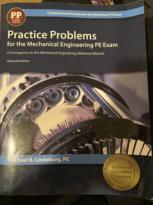 Practice Problems for mechanical PE exam! for Sale in Glendale, CA