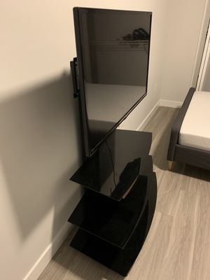 TV stand with TV (42 inch) for Sale in Tampa, FL