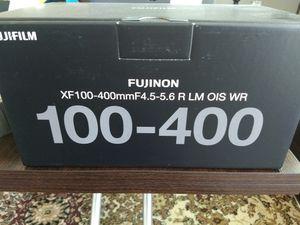 fujifilm 100-400mm camera lens for Sale in Sacramento, CA